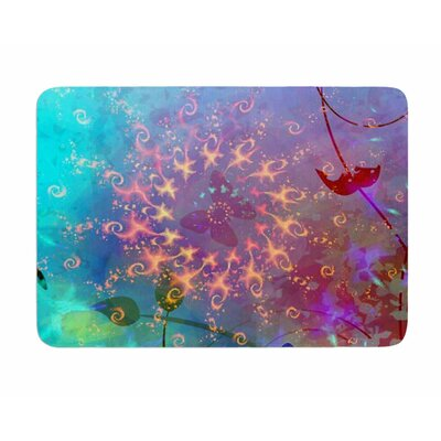 Illusion by AlyZen Moonshadow Memory Foam Bath Mat