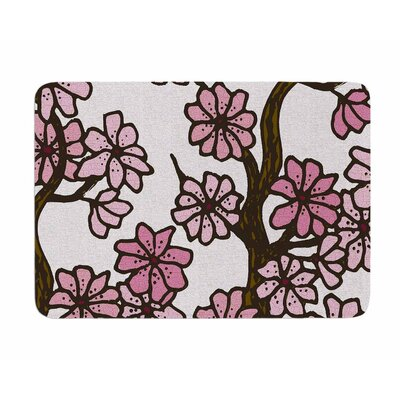 Cherry Blossoms by Art Love Passion Memory Foam Bath Mat