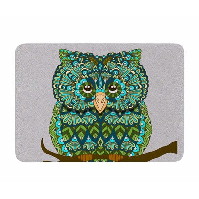 Great Owl by Art Love Passion Memory Foam Bath Mat