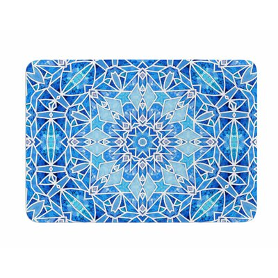 Star Snowflake by Art Love Passion Memory Foam Bath Mat
