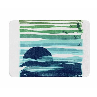 Sea Scape by Frederic Levy-Hadida Memory Foam Bath Mat