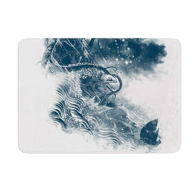 No Escape by Frederic Levy-Hadida Memory Foam Bath Mat