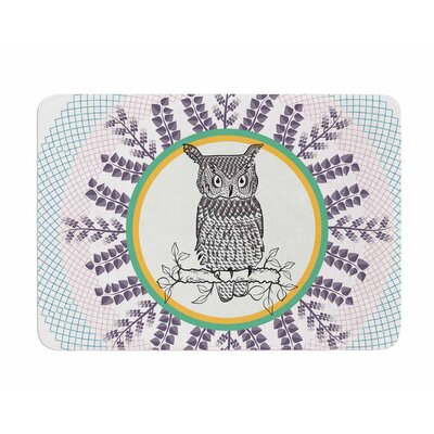 Owl by Famenxt Memory Foam Bath Mat