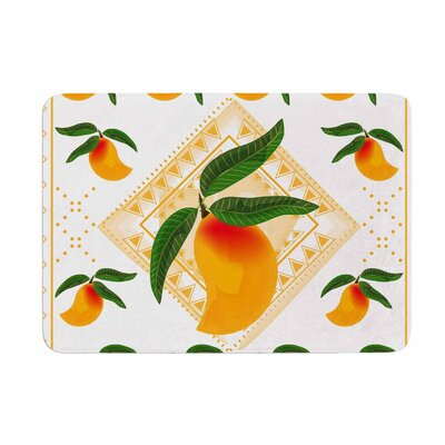 Fresh Farm Mangoes by Famenxt Memory Foam Bath Mat