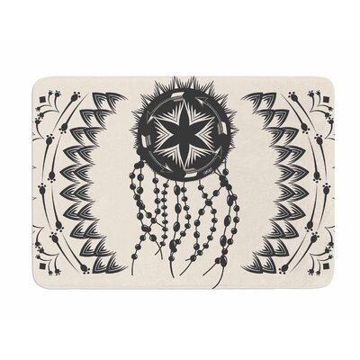 Bohemian Dream Catcher Boho by Famenxt Memory Foam Bath Mat