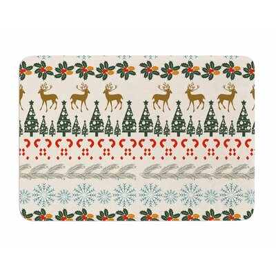 Christmas Vibes by Famenxt Memory Foam Bath Mat