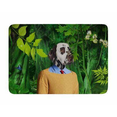 Into the Leaves N1 by Natt Memory Foam Bath Mat