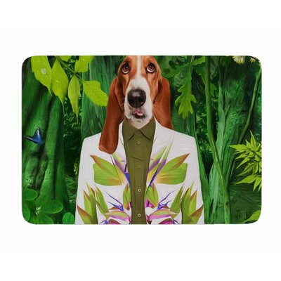 Into the Leaves N5 by Natt Memory Foam Bath Mat