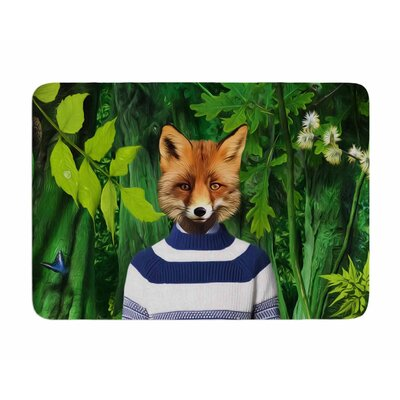 Into the Leaves N7 by Natt Memory Foam Bath Mat