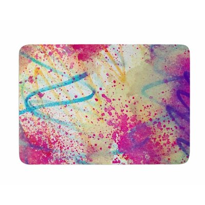 Rainbow by Liz Perez Memory Foam Bath Mat