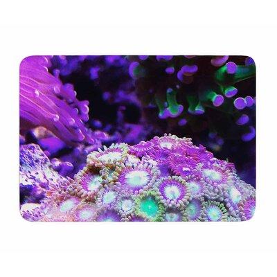 Coral Reef by Liz Perez Memory Foam Bath Mat