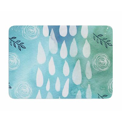 Rain by Li Zamperini Memory Foam Bath Mat