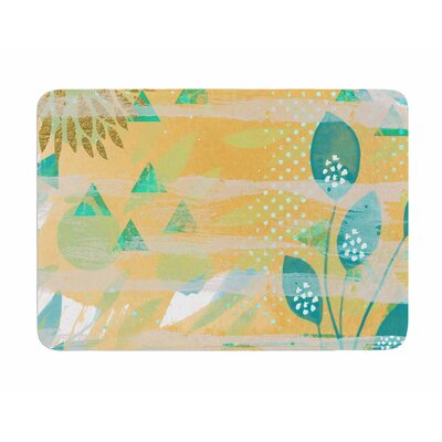 Foliage by Li Zamperini Memory Foam Bath Mat