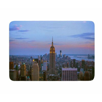 Empire State of Mind by Juan Polo Memory Foam Bath Mat