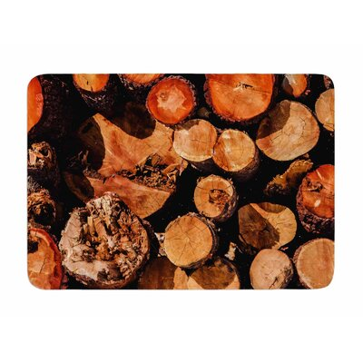 The Lumber Yard by Juan Polo Memory Foam Bath Mat