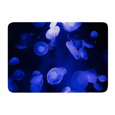 Jellyfish by Juan Polo Memory Foam Bath Mat