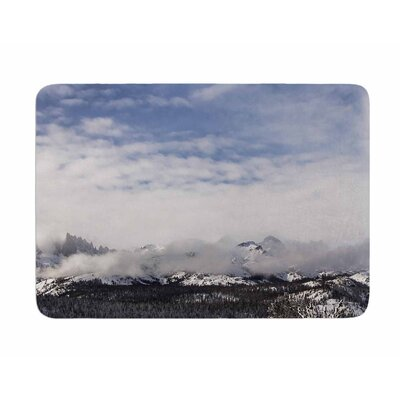 Top of the Summit by Juan Polo Memory Foam Bath Mat