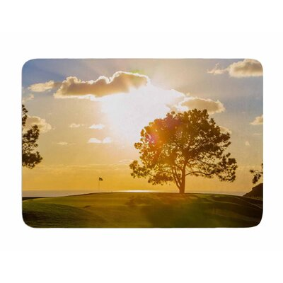 Approach Shot by Juan Polo Memory Foam Bath Mat