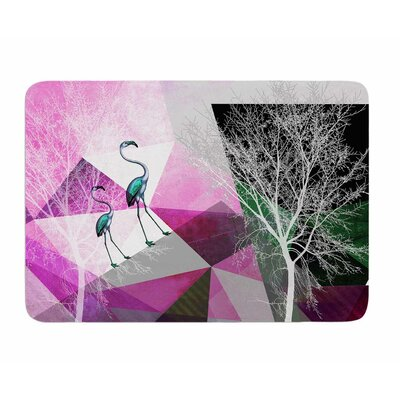 Flamingo P22 by Poa Schneider Memory Foam Bath Mat
