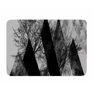 Trees V2 by Poa Schneider Memory Foam Bath Mat