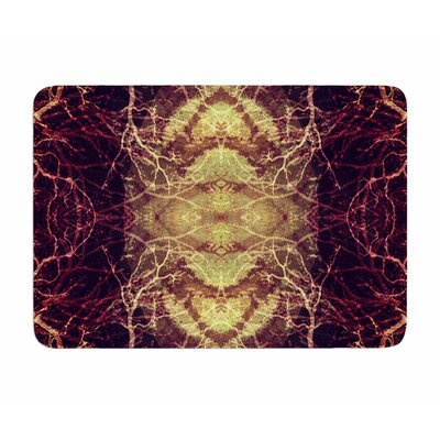 Burning Roots IV by Poa Schneider Memory Foam Bath Mat