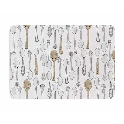 Spoons by Stephanie Valet Memory Foam Bath Mat