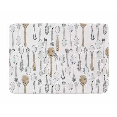 Spoons by Stephanie Valet Memory Foam Bath Mat