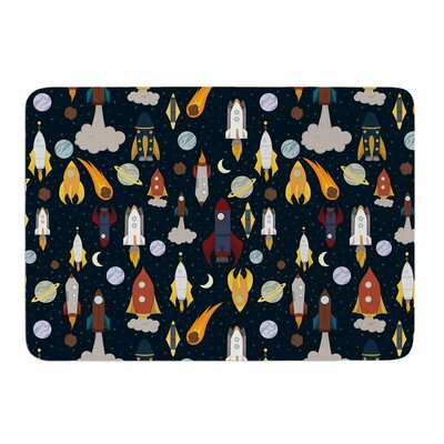 Rockets by Stephanie Valet Memory Foam Bath Mat