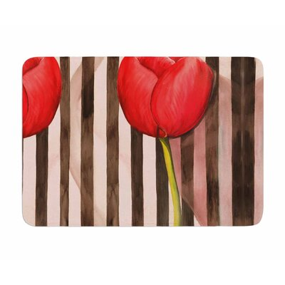 Classic Rose by S. Selma Z Memory Foam Bath Mat