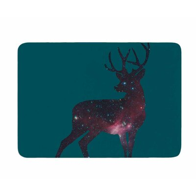 Deer in the Starlight by Alias Memory Foam Bath Mat