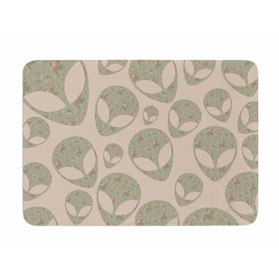 Abducting the Flowers by Alias Memory Foam Bath Mat