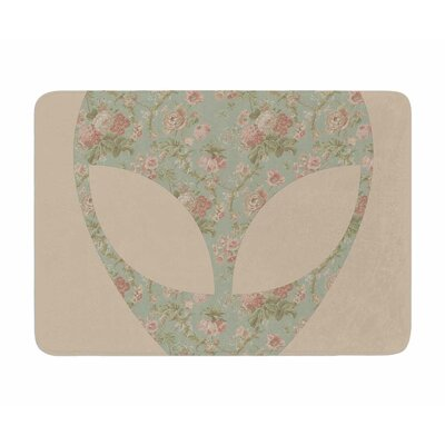 Floral Alien by Alias Memory Foam Bath Mat