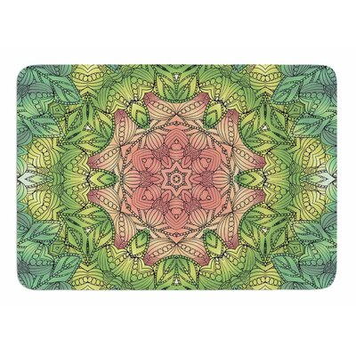Celtic Flower by Art Love Passion Memory Foam Bath Mat