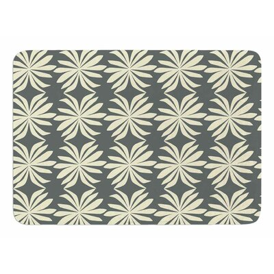 White Palm by Amy Reber Memory Foam Bath Mat