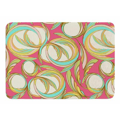 Cirle Sings by Amy Reber Memory Foam Bath Mat