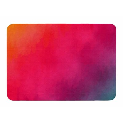 Rainbow Loon by Fotios Pavlopoulos Memory Foam Bath Mat