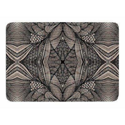 Fantazia Black by Gill Eggleston Memory Foam Bath Mat