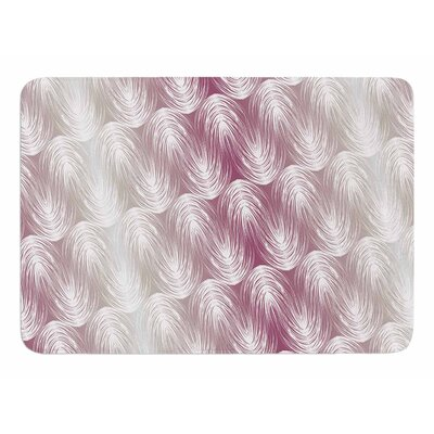 Stripe Palms by Gukuuki Memory Foam Bath Mat