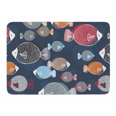 Swim School by Melissa Armstrong Memory Foam Bath Mat