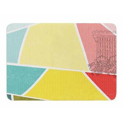 Cartagena Balconies by MaJoBV Memory Foam Bath Mat