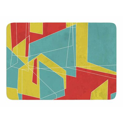 Cartagena Walls by MaJoBV Memory Foam Bath Mat