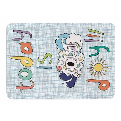 Today is Your Day by MaJoBV Memory Foam Bath Mat