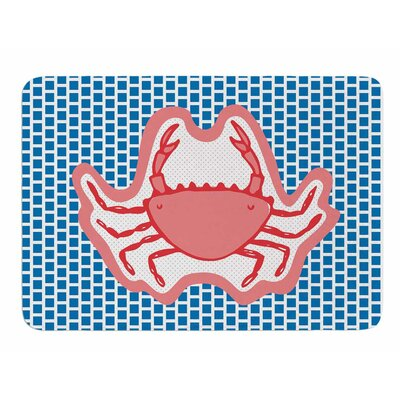 Cangrejo by MaJoBV Memory Foam Bath Mat