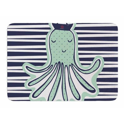 Pulpo by MaJoBV Memory Foam Bath Mat