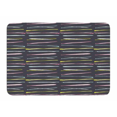 Rosewall Thorns by MaJoBV Memory Foam Bath Mat
