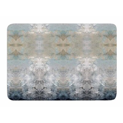 Heavenly Bird III by Poa Schneider Memory Foam Bath Mat