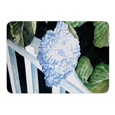 Hydrangea by Rosie Brown Memory Foam Bath Mat