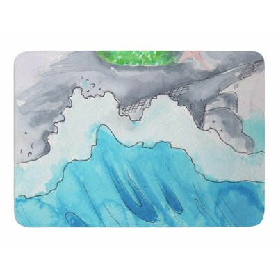 Longing To Be Free by Rebekah Bender Memory Foam Bath Mat