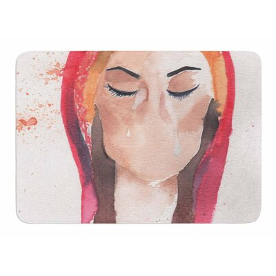 Mary Magdalene by Rebekah Bender Memory Foam Bath Mat
