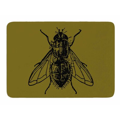 Too Fly by Alias Memory Foam Bath Mat